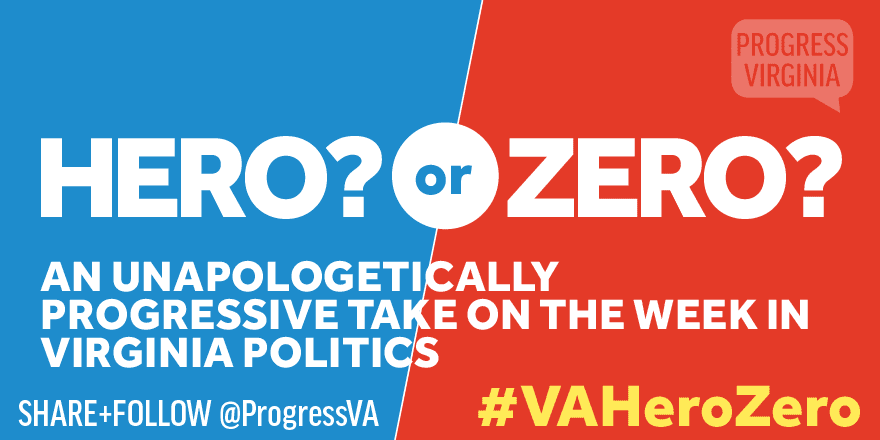 hero or zero progress virginia
